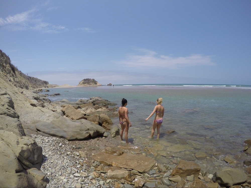 la tiñosa beach in Manta