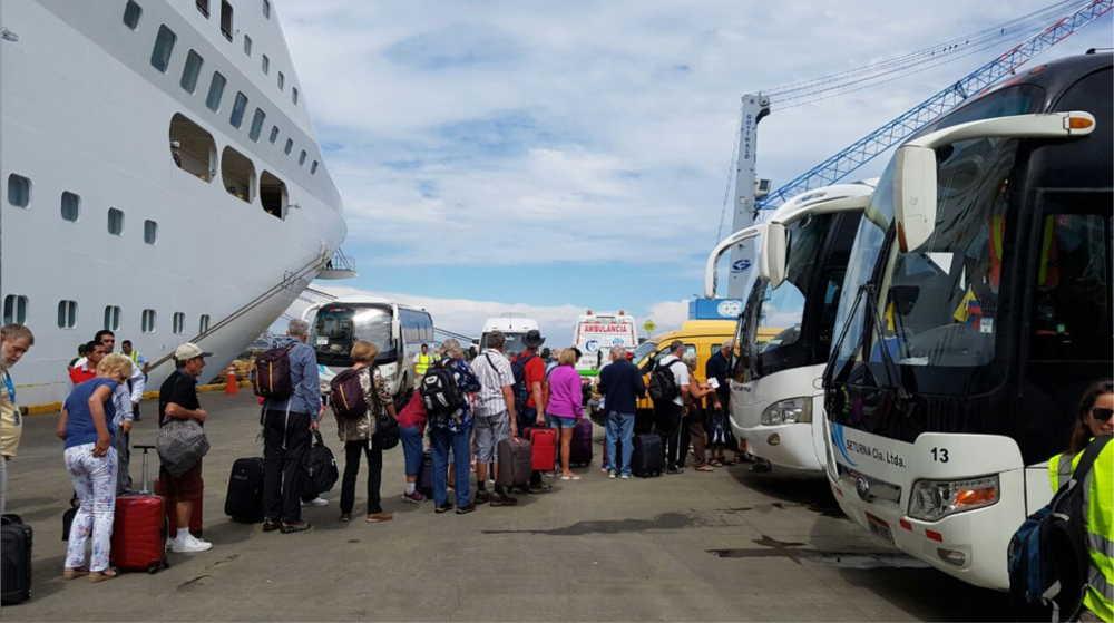 manta cruise terminal