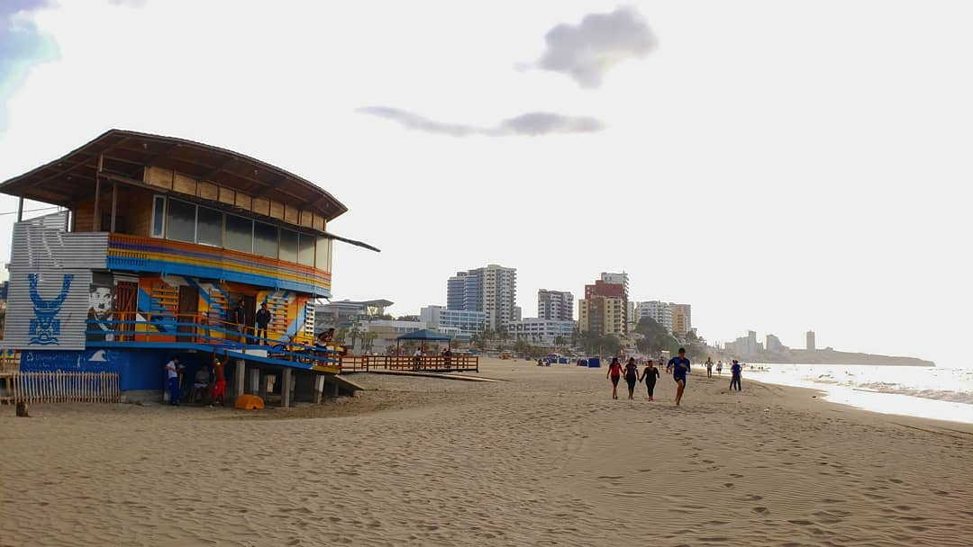 Beaches in Manta : Muerciélago