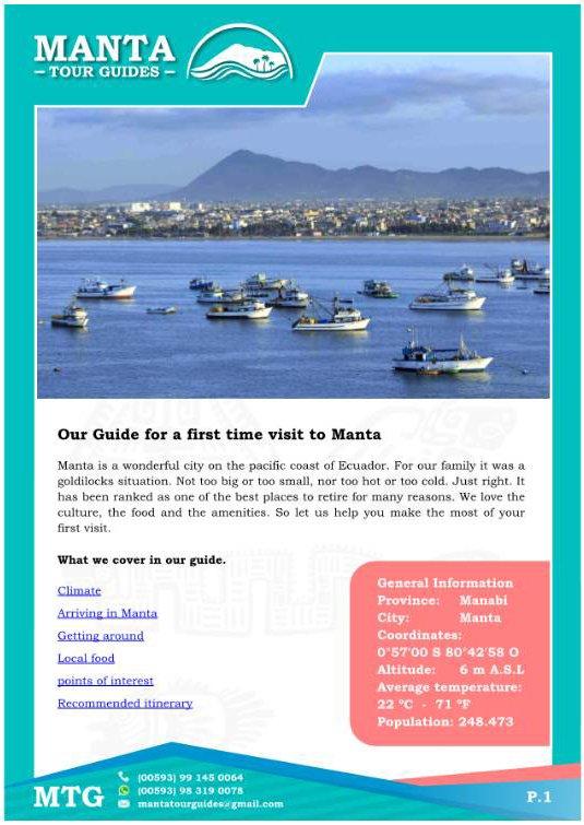 Manta Ecuador Guide