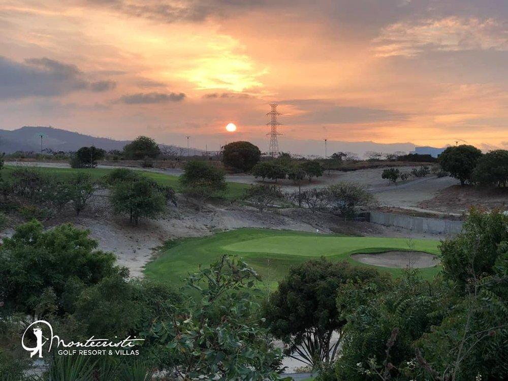 Manta Ecuador sunset