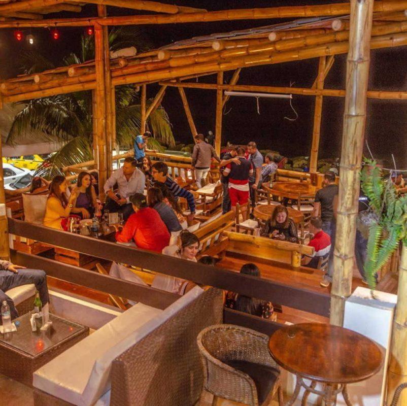 One of my favourite spots, Iguana bar manta ecuador