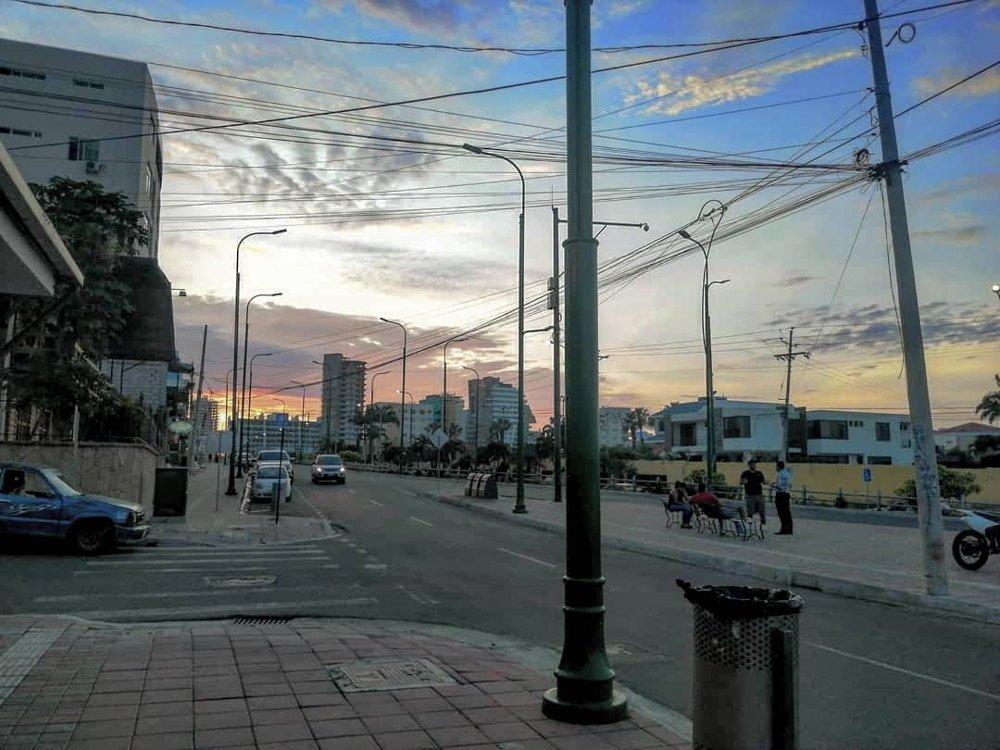 Via barbasquillo Manta Ecuador